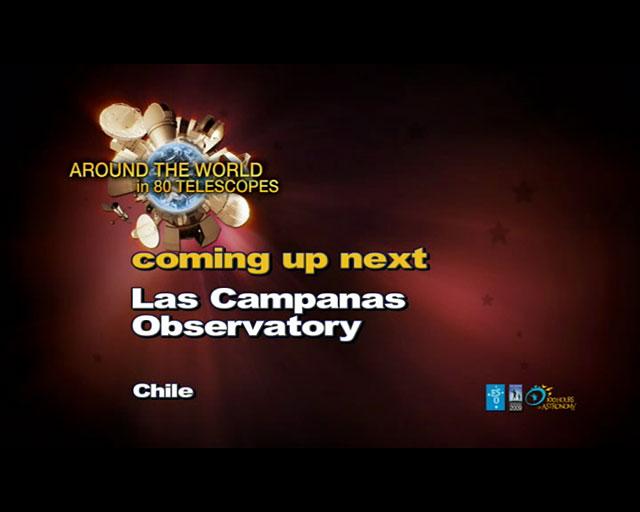 Las Campanas (AW80T webcast)