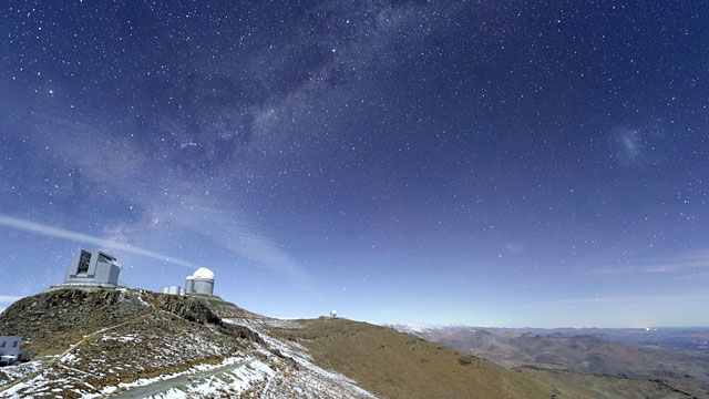La Silla time-lapse general view