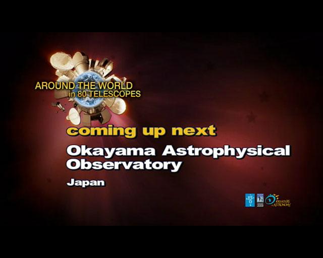 Okayama Observatory (AW80T webcast)