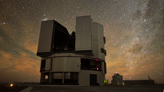 VLT Before the Approaching Dawn