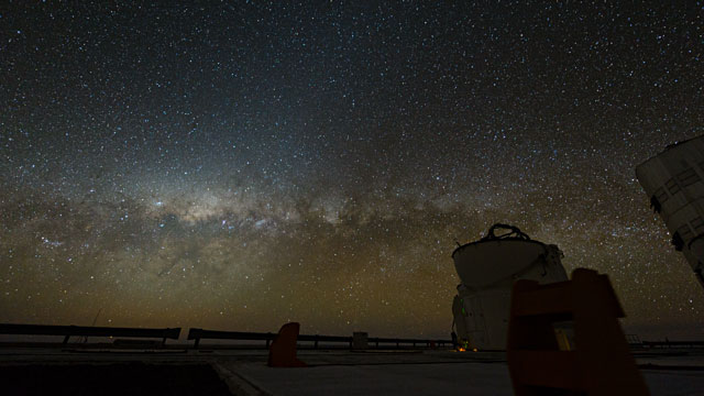 Paranal Time-lapse 2012f