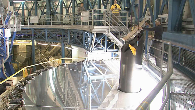 Mirror Recoating at the Very Large Telescope (part 14)