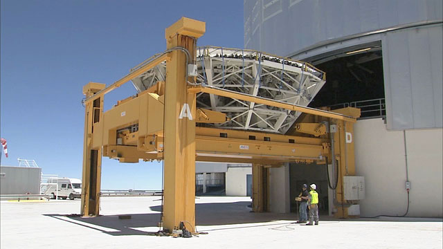 Mirror Recoating at the Very Large Telescope (part 22) (Time-lapse)