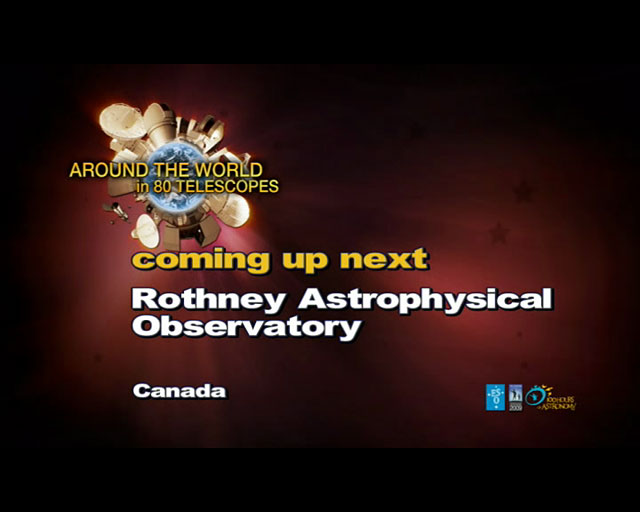 Rothney Astrophysical Obs. (AW80T webcast)