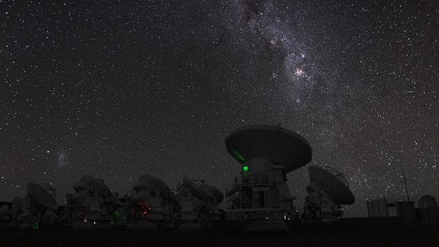 Eta Carinae over ALMA