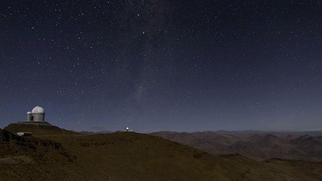 Stars Rise over La Silla