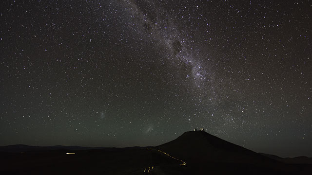 Night Sky Beauty Over Paranal