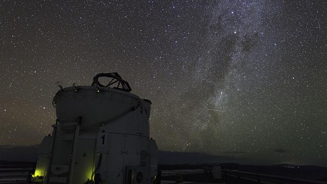 Auxiliary Telescope UHD Time-lapse
