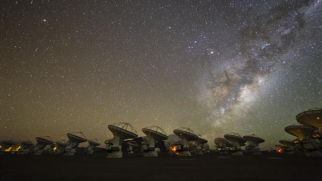 Ultra HD time-lapse of ALMA
