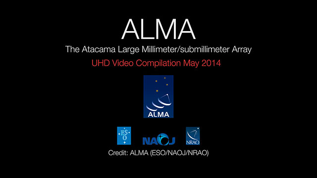 ALMA UHD Video Compilation