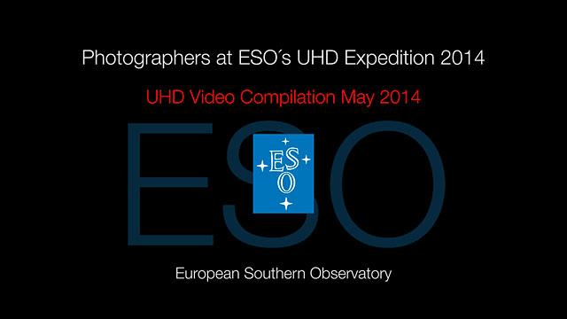 Fotografen bei der ESO-UHD-Expedition 2014