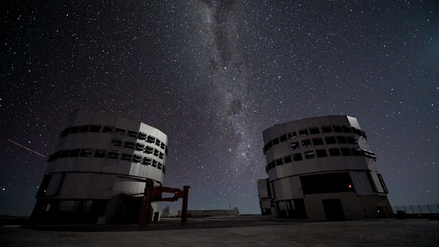 Observing the Milky Way from the VLT