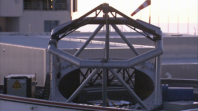Close Up on an Auxiliary Telescope