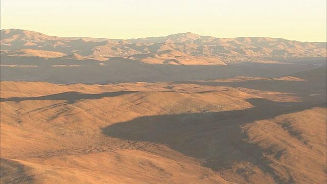 Shadows in the Atacama Desert