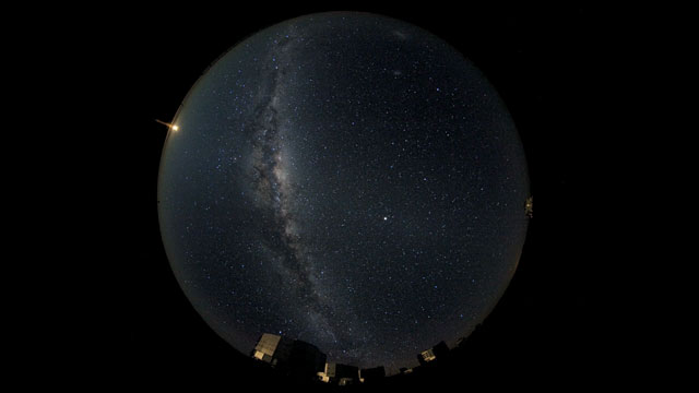 A Fish-eye View on the VLT