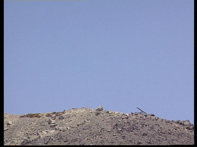 Blasting in the Desert