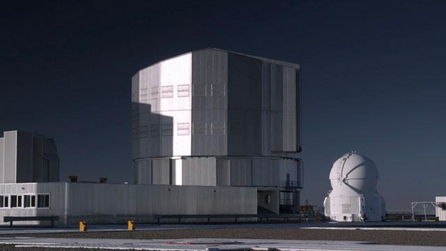 Unit Telescope Time-lapse D