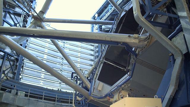 Unit Telescope Time-lapse A