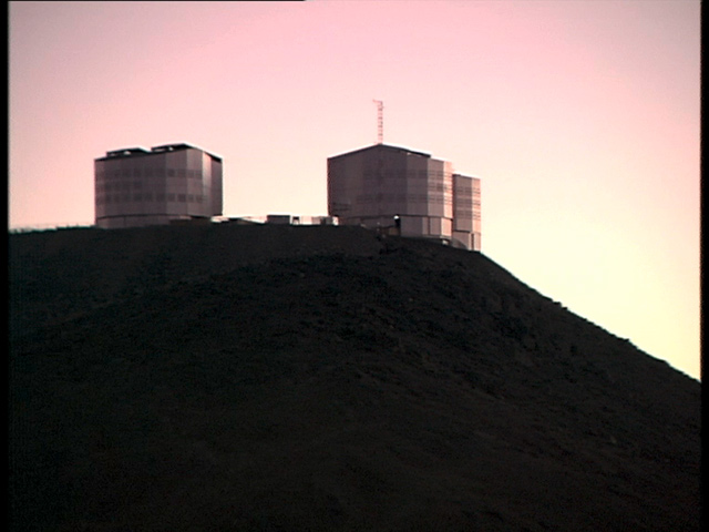 Video News Release 10: Videosequences of the Very Large Telescope Array