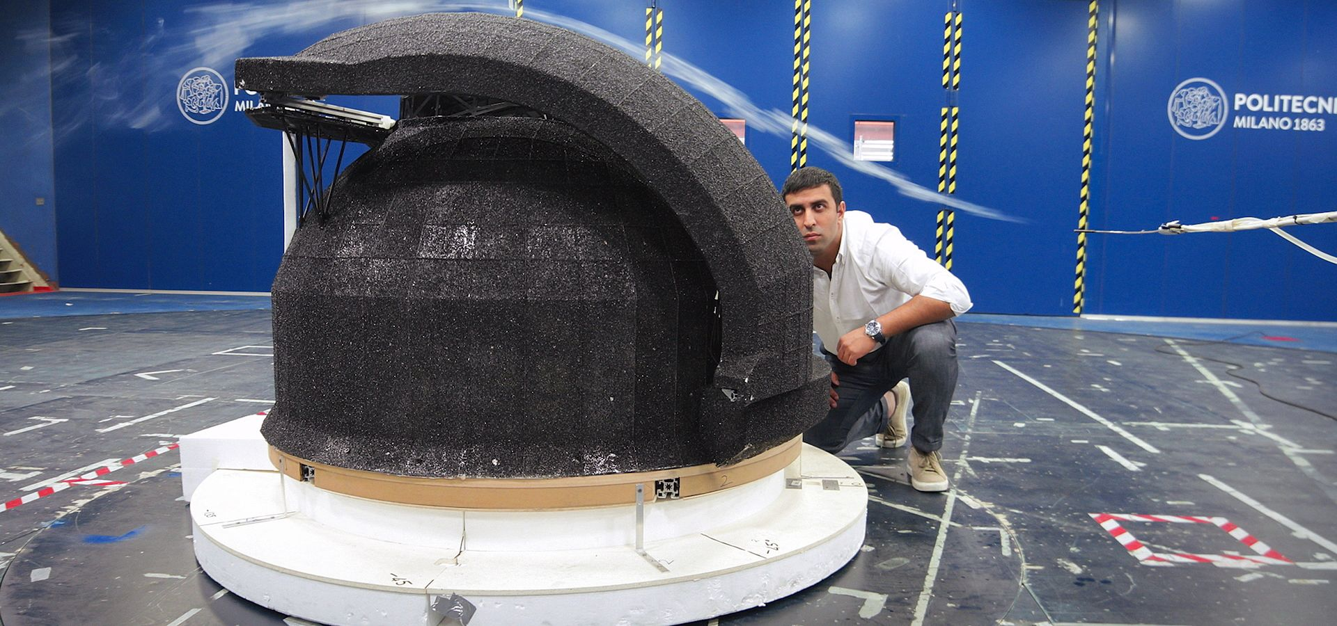 Wind Tunnel Tests: Preparing the ELT for Mountain Life
