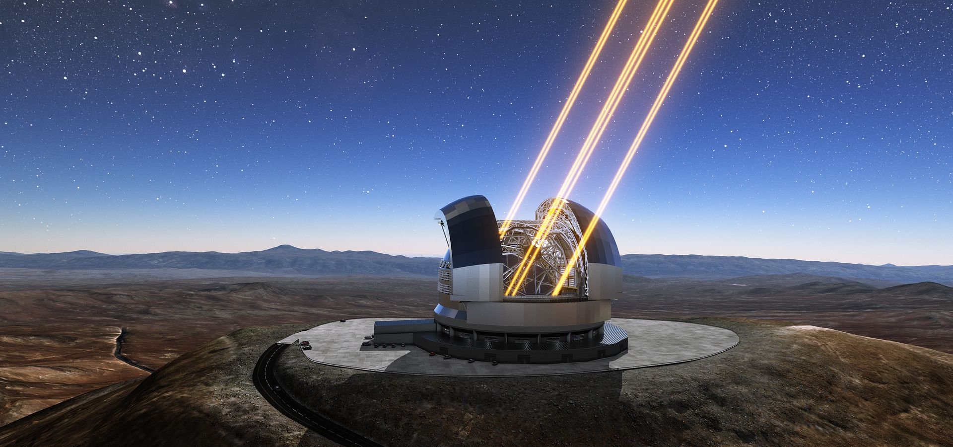 First Stone Ceremony for ESO's Extremely Large Telescope