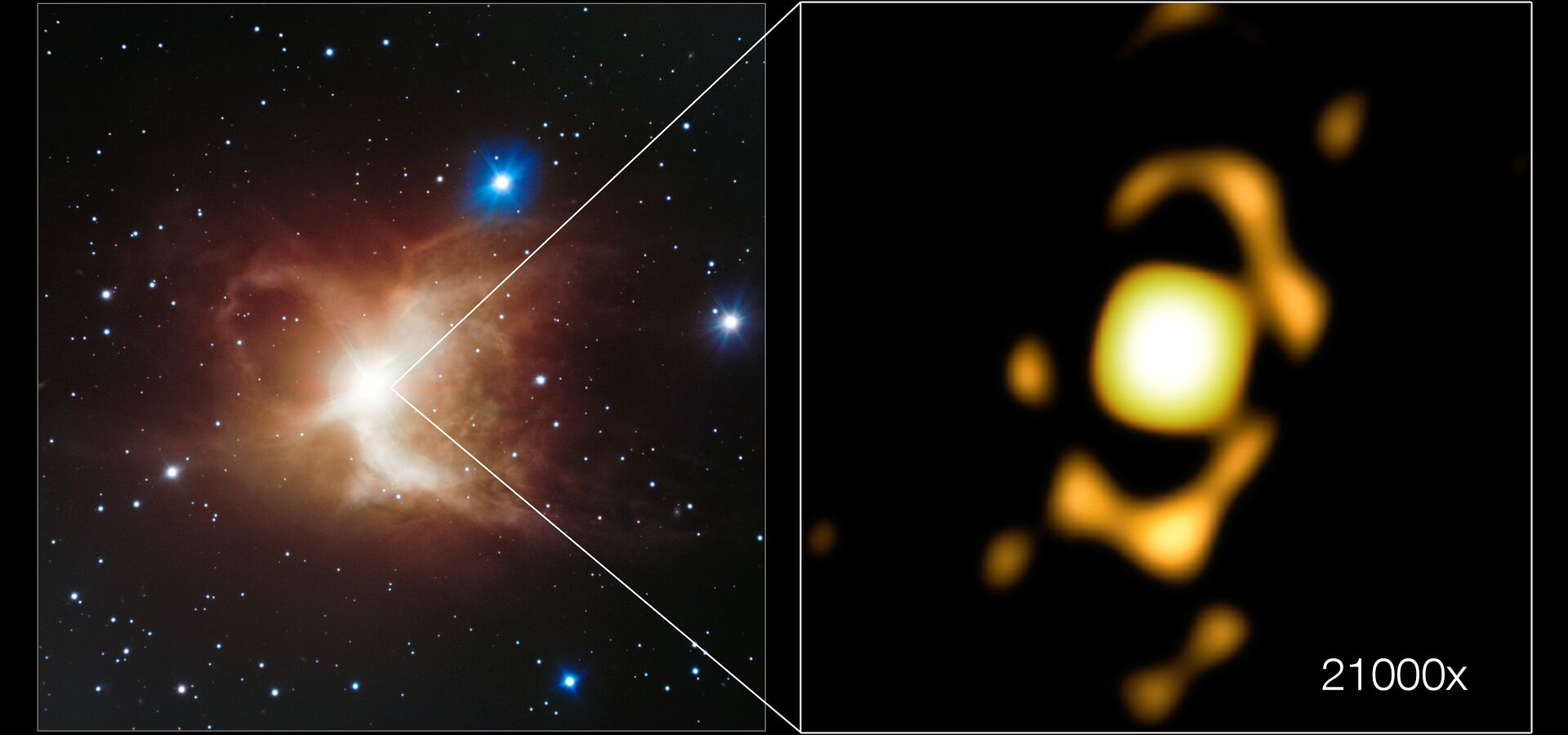 How zooming in on the Toby Jug Nebula 21 000 times provided insights into its formation