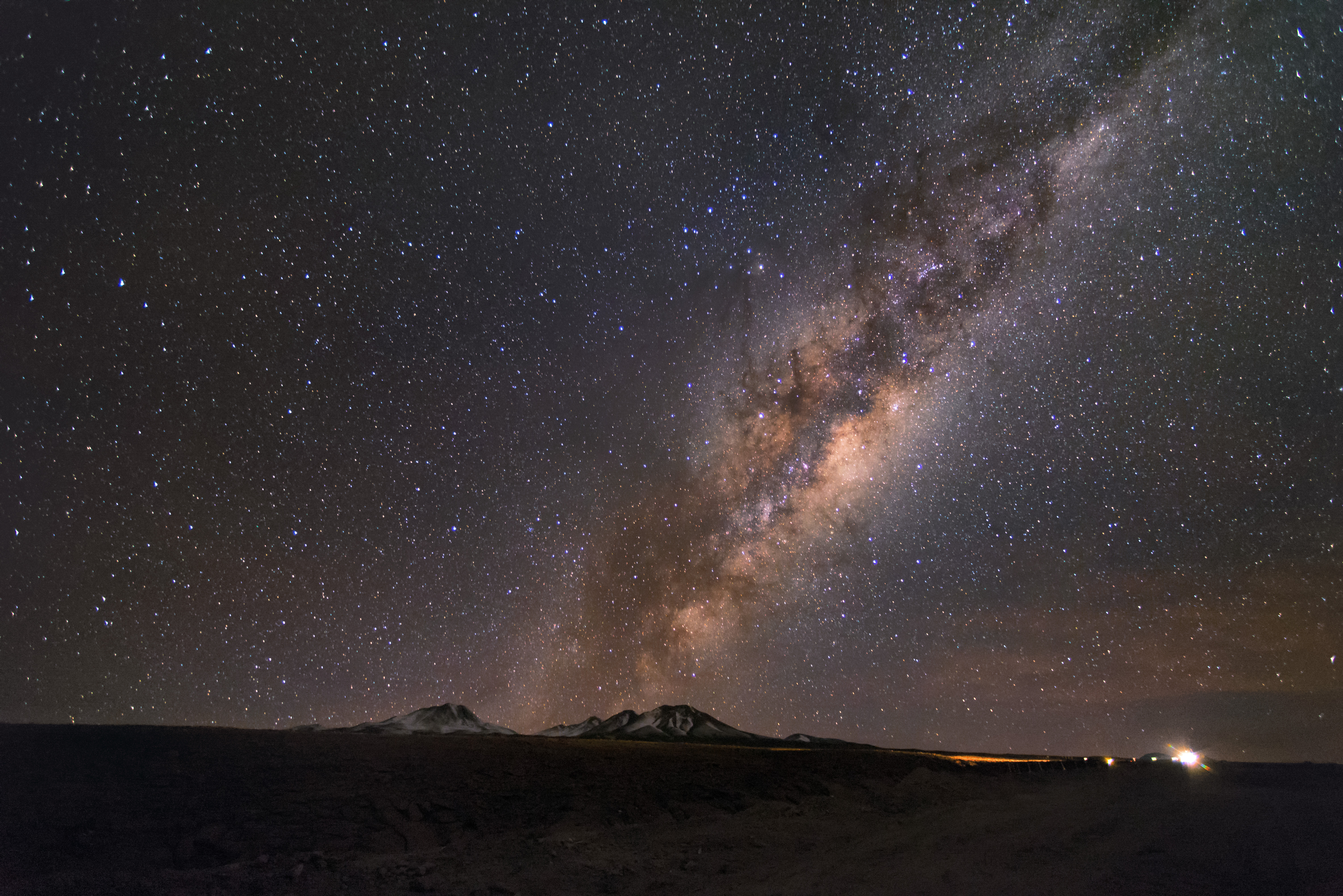 milky way from earth - HD 6016×4016