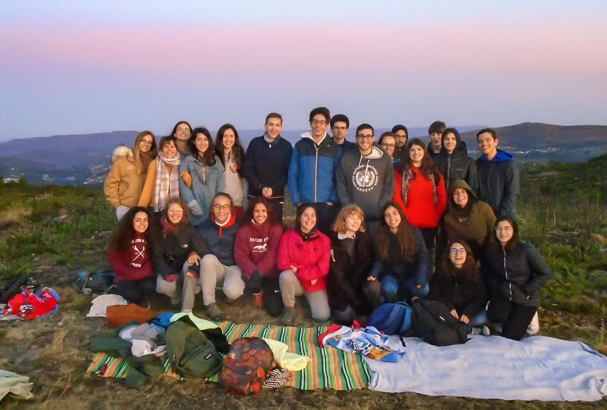 Participantes Del Campamento De Astronomía De Verano Astrocamp 2019 Eso España