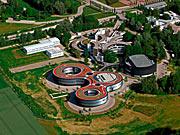 Вид на штаб-квартиру ESO с высоты птичьего полета