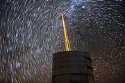 Laser stars in the sky