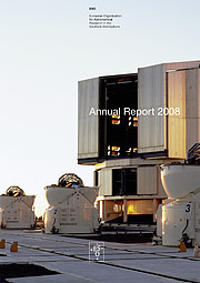 Cover of ESO Annual Report 2008