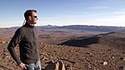 Joe Liske in the Atacama Desert