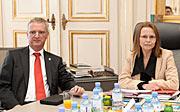 Tim de Zeeuw with Beatrix Karl