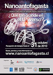 Poster for the Nanoantofagasta competition