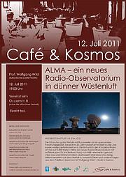 Poster: Café & Kosmos 12 July 2011