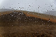Rain in the driest place on Earth