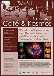 Poster: Café & Kosmos — Mysterious supernovae