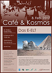 Poster of Café & Kosmos 8 February 2012