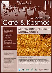 Poster zu Café & Kosmos am 14. März 2012