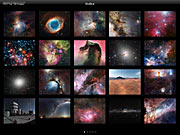 Tela do app ESO Top 100 Images v2.0