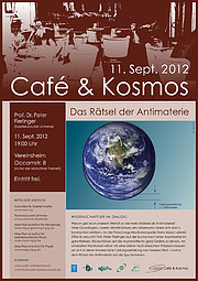 Poster zu Café & Kosmos am 11. September 2012