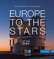 "Einband des Buchs ""Europe to the Stars"""