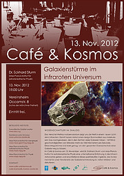 Poster zu Café & Kosmos am 13. November 2012