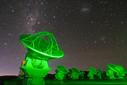 ALMA-Antennen auf Chajnantor