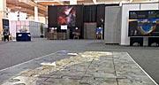 Área de exposição do ESO na Cimeira CELAC–EU em Santiago
