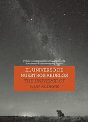 Capa do folheto que descreve o Cosmos visto pelos anciãos do Atacama