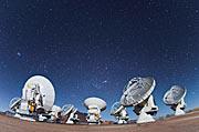 ALMA-Antennenschüsseln