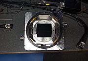 Einer der Test-CCD-Detektoren von ESPRESSO