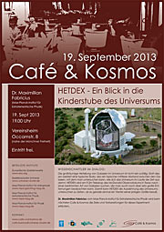 Café & Kosmos 19 September 2013
