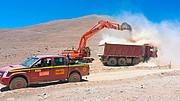 Baubeginn der Straße zum Armazones